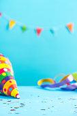 istock Colorful celebration mockup,birthday card 884886604