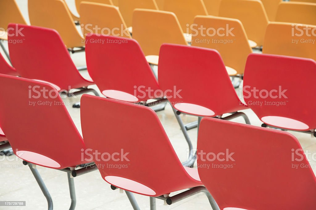 colorful chair royalty-free stock photo