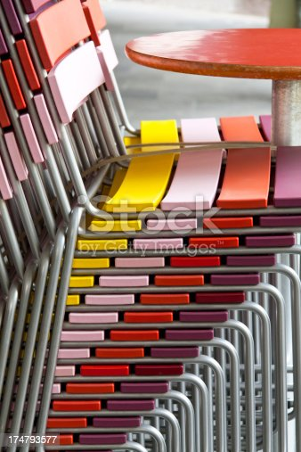 istock Colorful Chairs 174793577