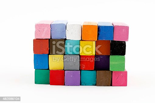istock Colorful Chalks 482586104