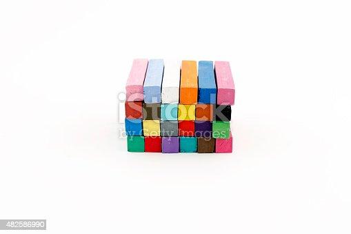 475744392 istock photo Colorful Chalks 482586990