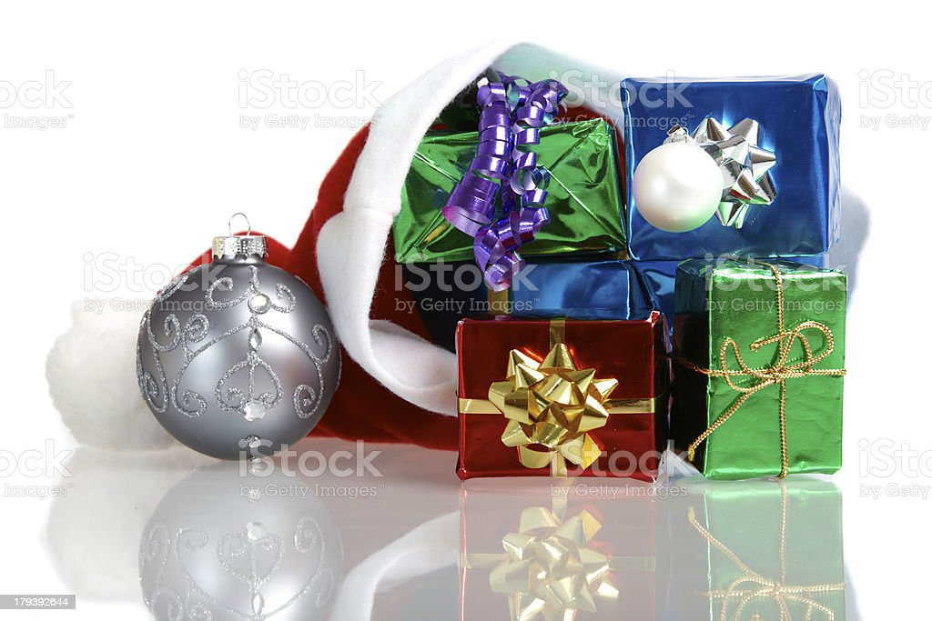 Colorful Christmas Decoration royalty-free stock photo