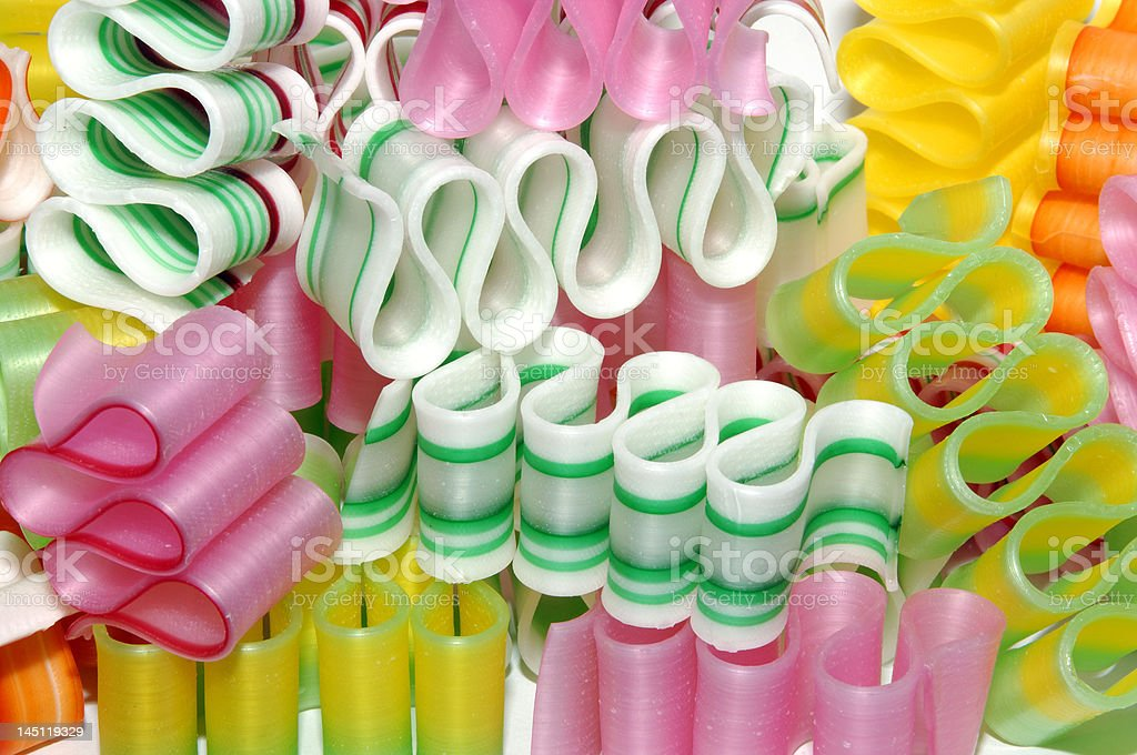 colorful christmas ribbon candy royalty free stock photo - Christmas Ribbon Candy