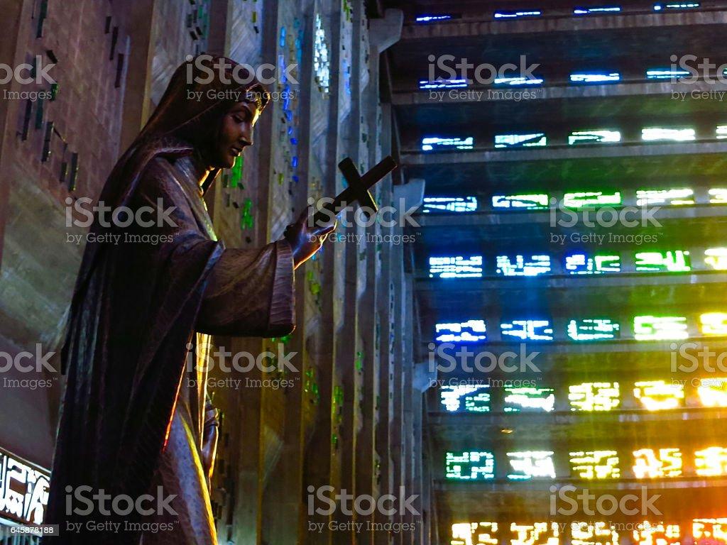 Colorful Church stock photo