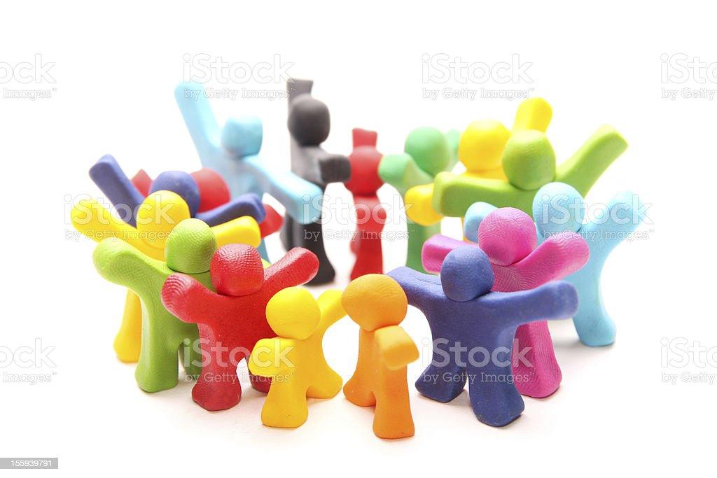 colorful circle royalty-free stock photo