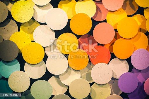 532107582 istock photo Colorful circles 1191893073