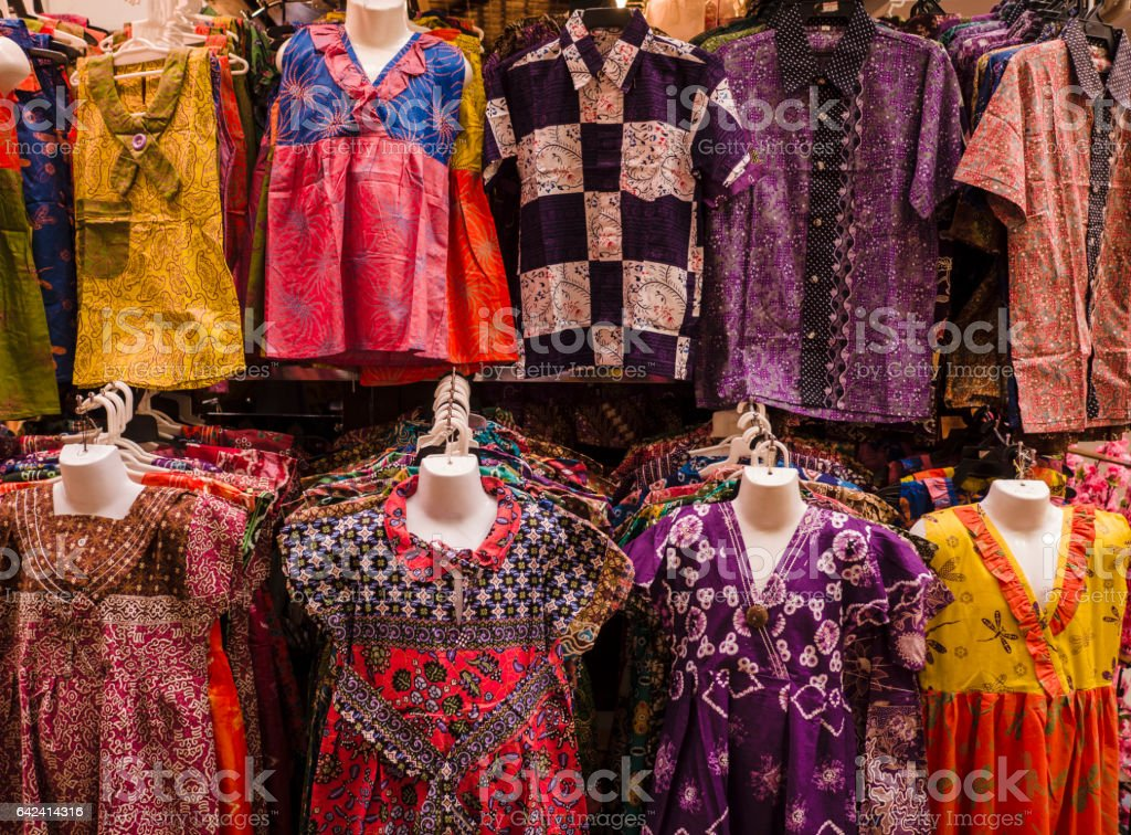 Clothing and asian market