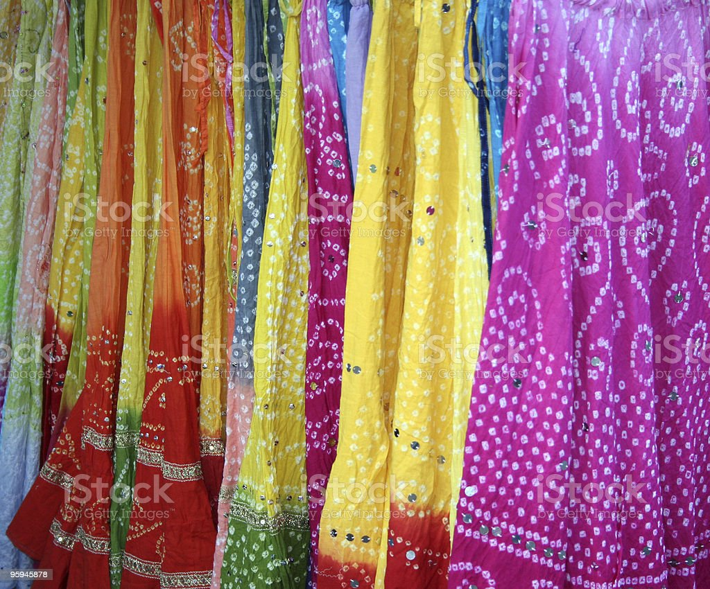 Colorful clothes royalty-free stock photo