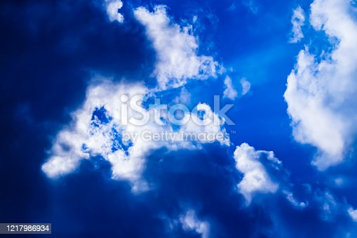 646012098 istock photo Colorful clouds in the sky 1217986934