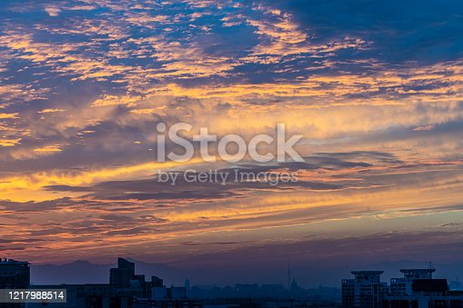 646012098 istock photo Colorful clouds in the sky 1217988514