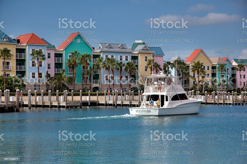 Colorful Condominiums royalty-free stock photo
