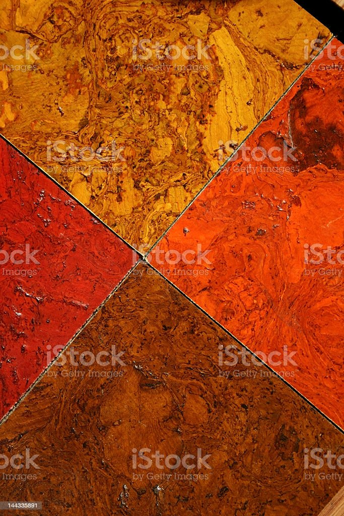 Colorful Cork Tiles Texture royalty-free stock photo