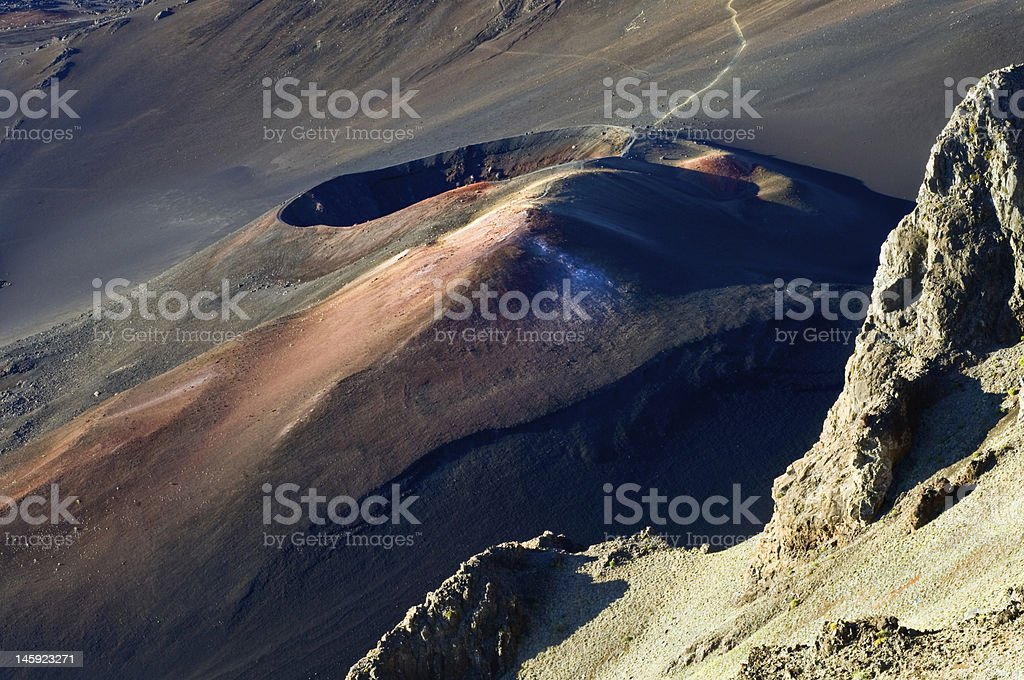 Colorful Crater stock photo