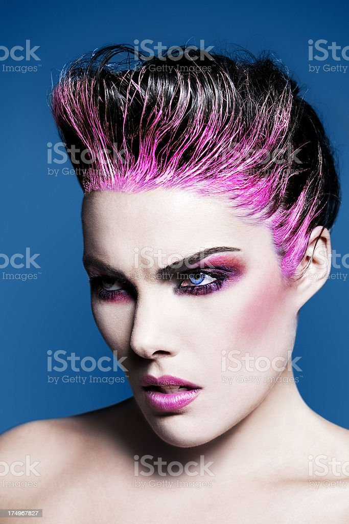 Colorful Creative Beauty royalty-free stock photo