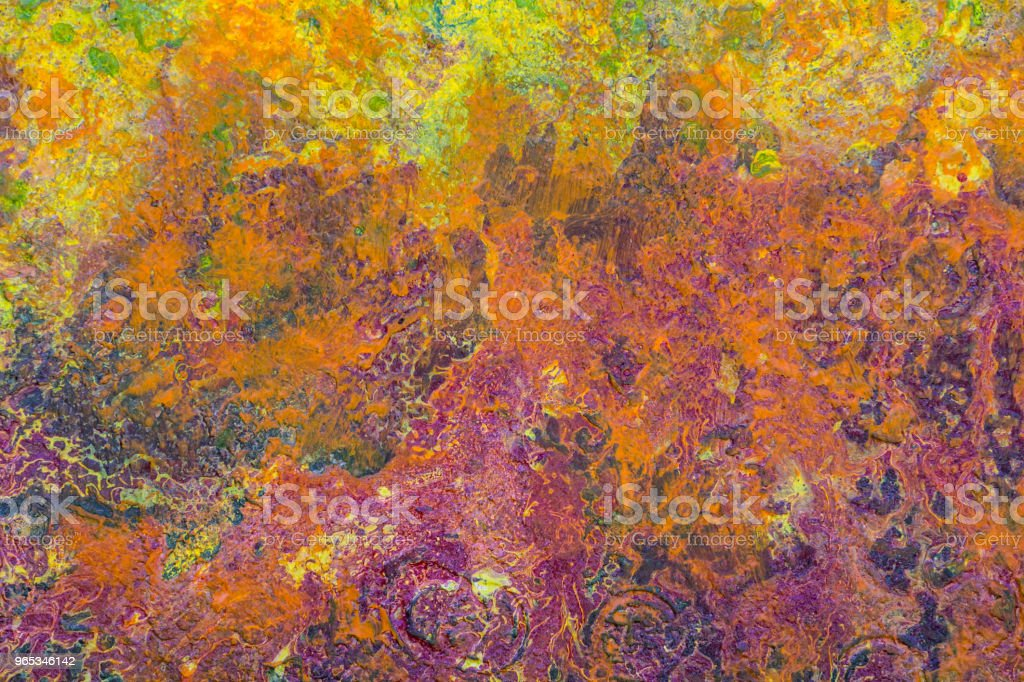 다채로운 손상 된 그런 지 질감 - 로열티 프리 0명 스톡 사진