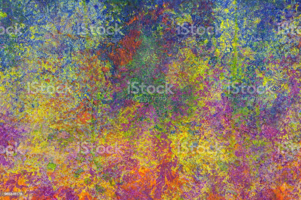 Colorful damaged grunge texture zbiór zdjęć royalty-free