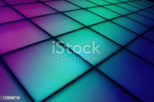 istock Colorful dance floor background 173599716