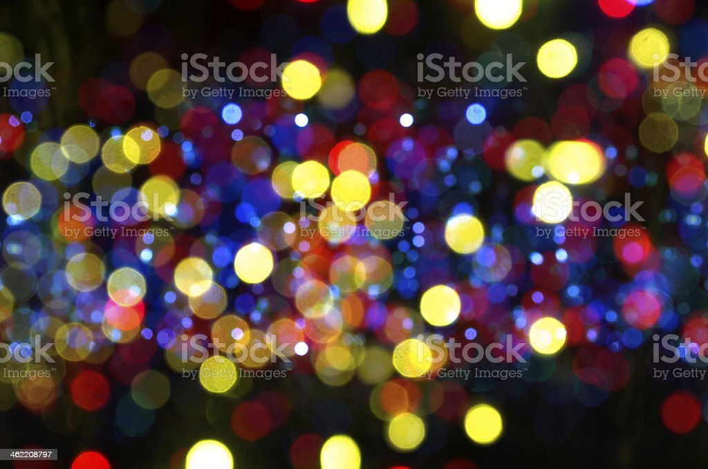 Colorful Defocused Lights Background royalty-free stock photo