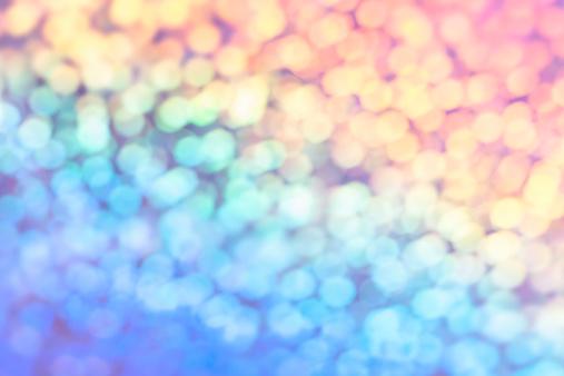 Colorful defocused lights background