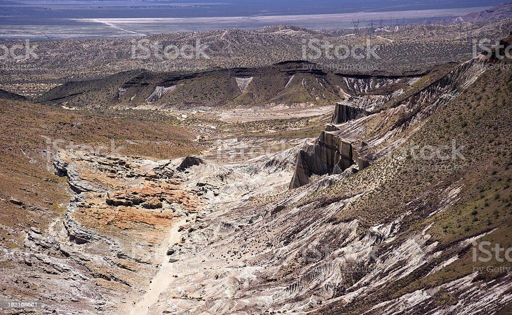 Colorful desert landscape royalty-free stock photo