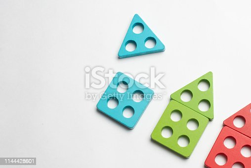 istock Colorful developing toy for children 1144428601