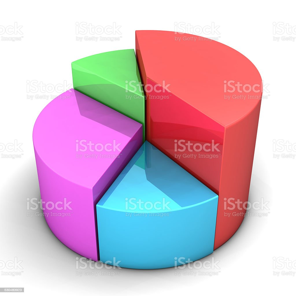 Colorful Diagram stock photo