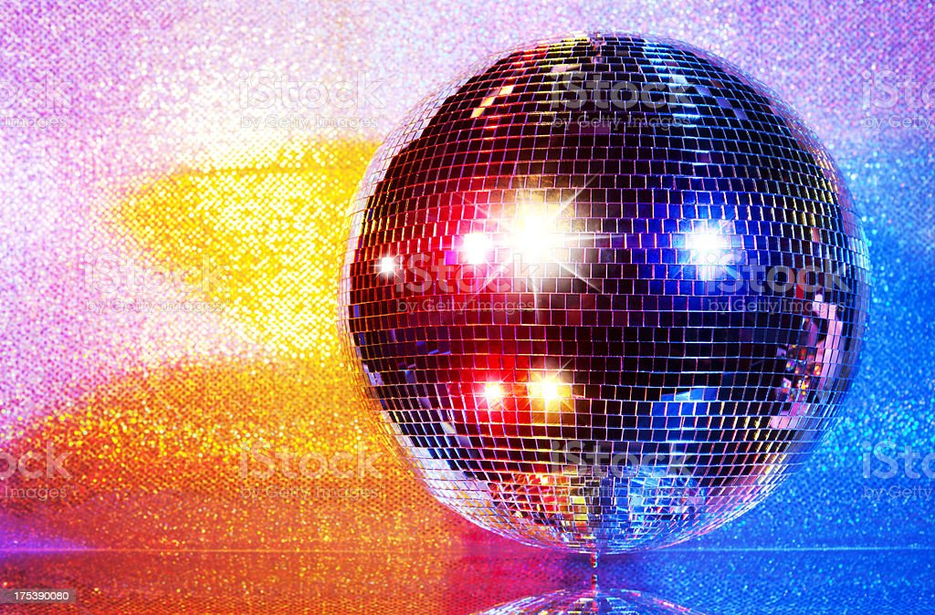 Colorful Disco Ball stock photo