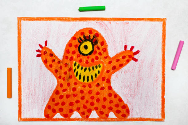 Colorful drawing cute orange monster with one eye picture id1136656194?b=1&k=6&m=1136656194&s=612x612&w=0&h=sgecp 8x61hjlvqyefy4 3bm6axj2agxkxyvzwz 0ju=