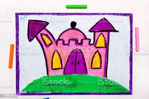 Colorful drawing cute pink princess castle picture id1136629228?b=1&k=6&m=1136629228&s=612x612&h=55n3ox 5um awo5vd9zkoi9mjqxhp5sfbicq91gxk g=