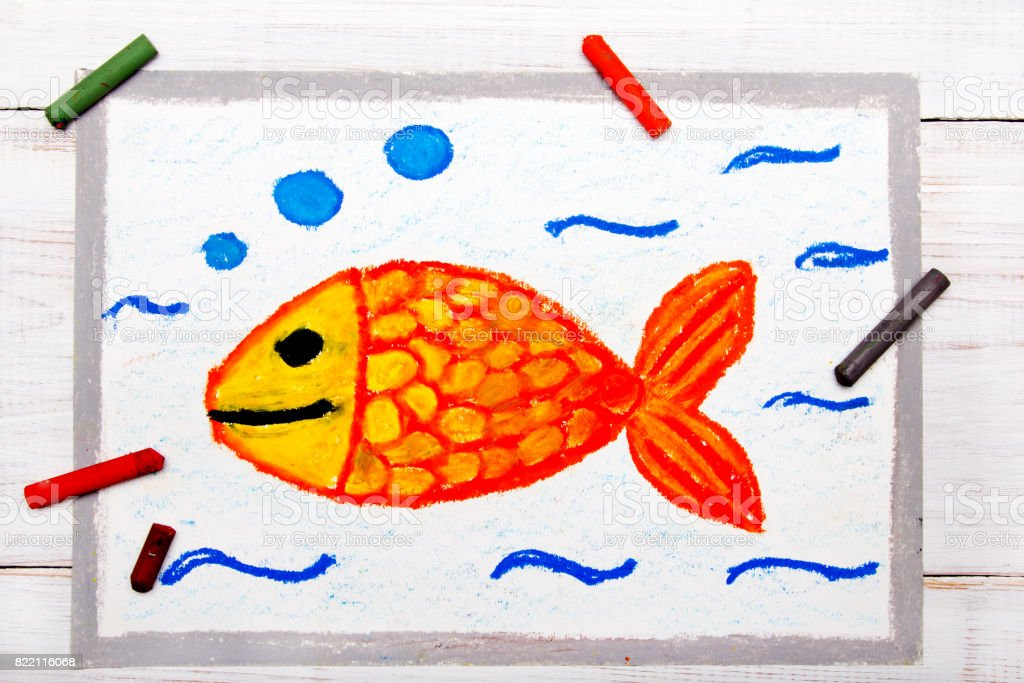 Foto De Desenho Colorido Peixinho Na Agua Smilimg De Peixe E Mais