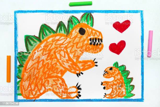 Colorful drawing two cute monsters mother and her child orange and picture id1136754236?b=1&k=6&m=1136754236&s=612x612&h=bwq1lwzparavm2a0axuw6fooy3baqfa sajy7aucz6e=