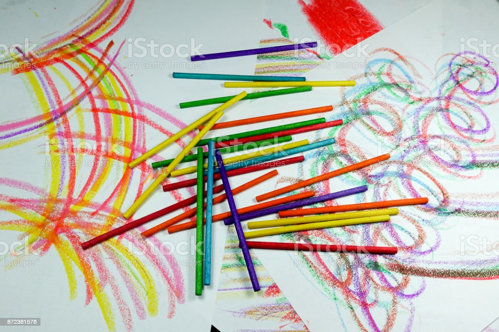 colorful drawings stock photo more pictures of abstract istock