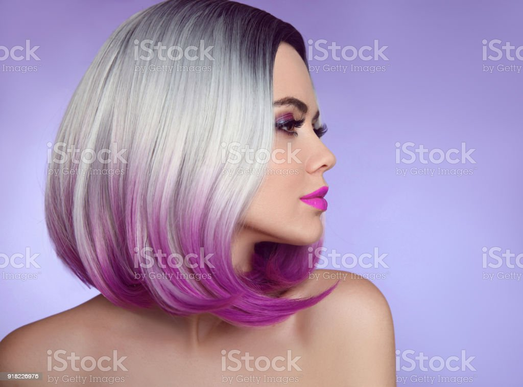 Ombre extensions for short hair