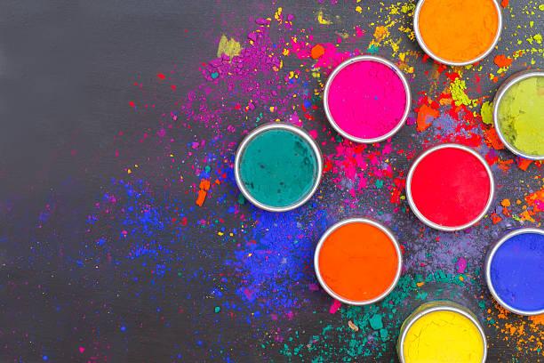 Teintures de couleurs vives - Photo