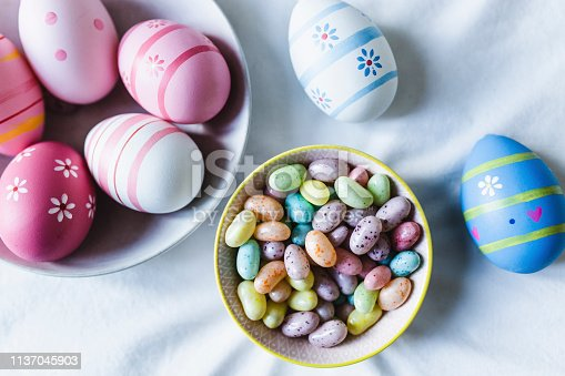 easter, easter egg, decorating, springtime