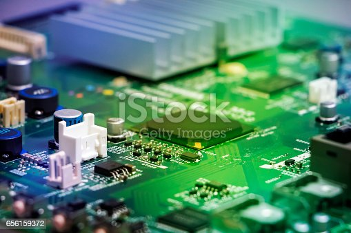 istock colorful electric circuit board abstract image visual 656159372