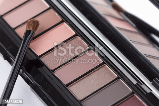 istock Colorful Eye Shadow Palette Makeup Products 1088728028