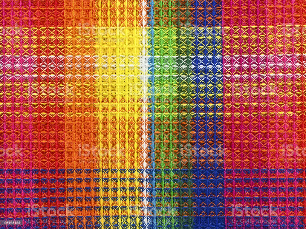 Colorful fabric background, close-up royalty-free stock photo