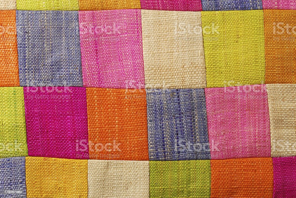 colorful fabric royalty-free stock photo
