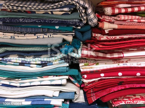1164401397 istock photo Colorful fabric samples 1098324954