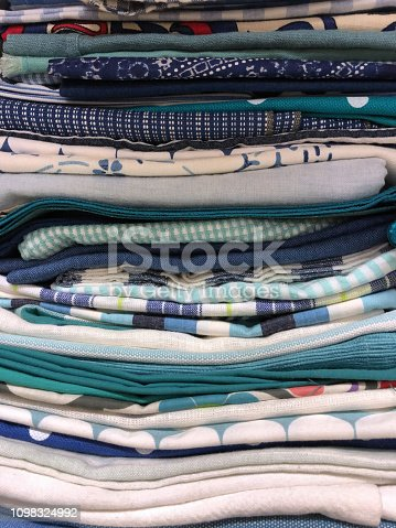 1164401397 istock photo Colorful fabric samples 1098324992