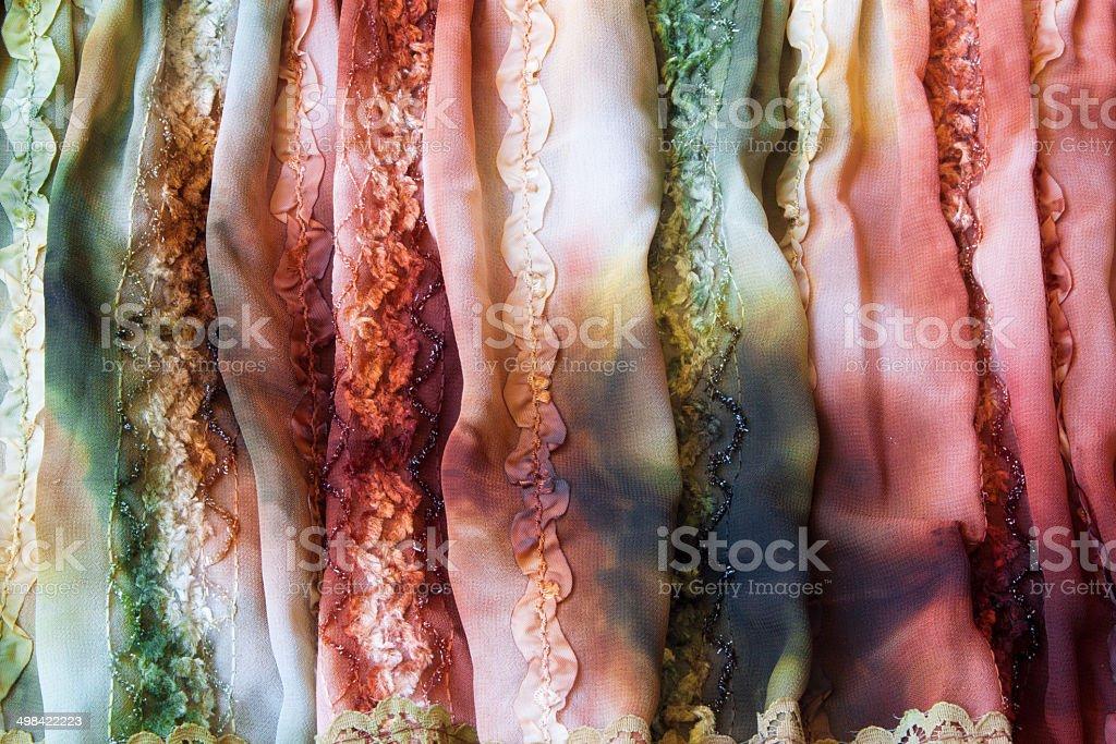 colorful fabric,background image royalty-free stock photo