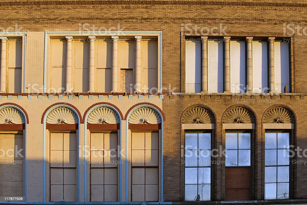 Colorful facade royalty-free stock photo