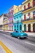 Colorful Facades Havana, Cuba