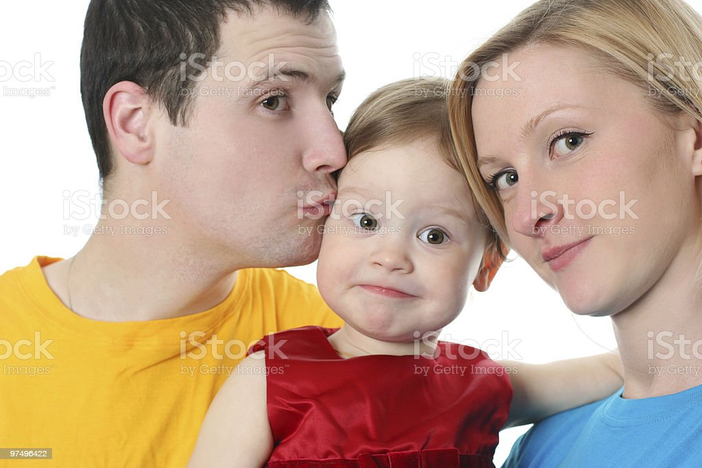 colorful family royalty-free stock photo
