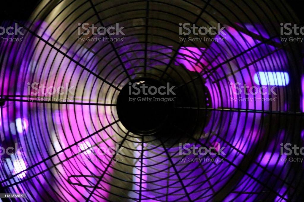 Ventilateur coloré - Photo