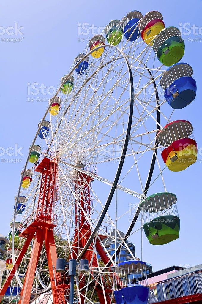 Colorful ferris wheel royalty-free stock photo