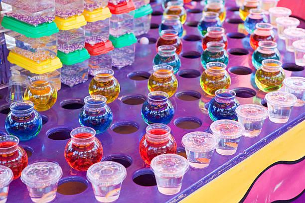 Colorful Festival Skill Game stock photo