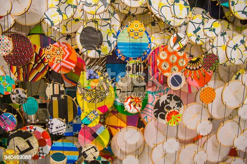 1135969446 istock photo Colorful festive party circle decoration.Paper party decoration 940469088