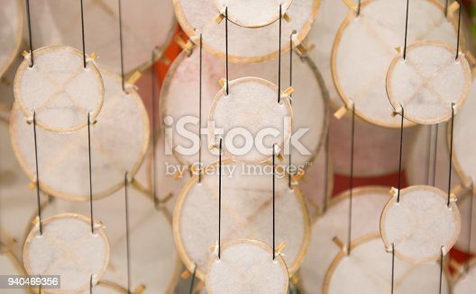 1135969446 istock photo Colorful festive party circle decoration.Paper party decoration 940469356